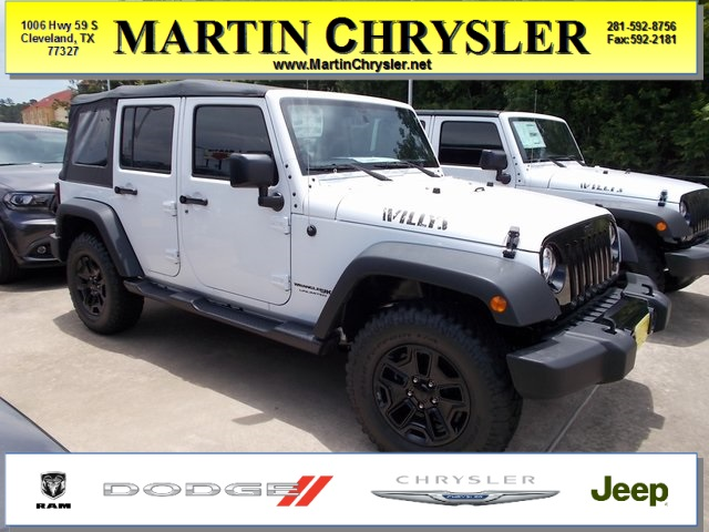 New 2018 JEEP Wrangler Unlimited Unlimited Willys Wheeler W